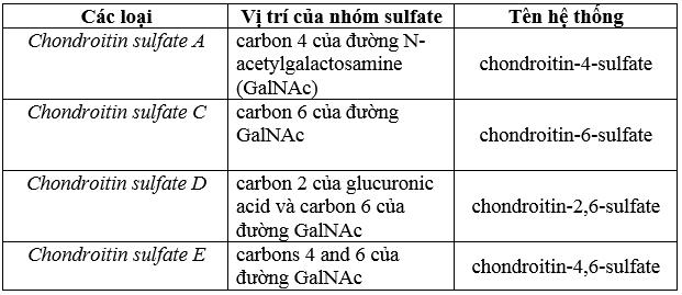 Chondroitin sulfate - Hoạt chất kì diệu trong y học hiện đại -3