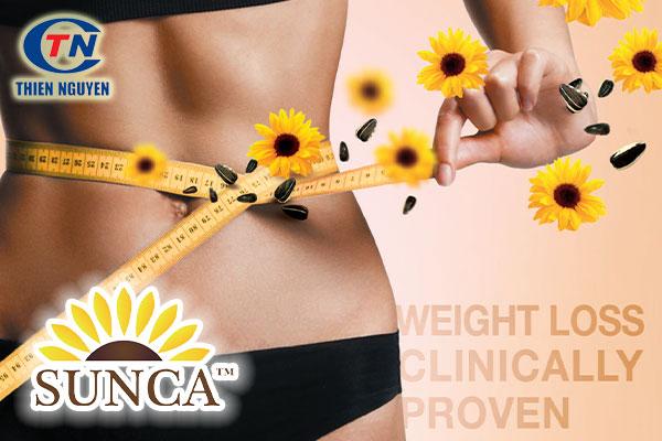 Sunca - Hỗ trợ giảm cân, giảm vòng eo