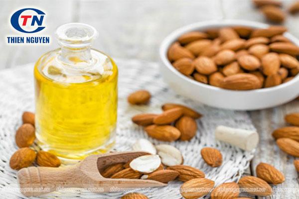 nguyên liệu Tinh dầu hạnh nhân Amond oil
