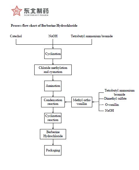 quy trình sản xuất berberin tổng hợp