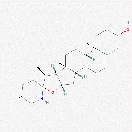 Công thức cấu tạo của solasodin