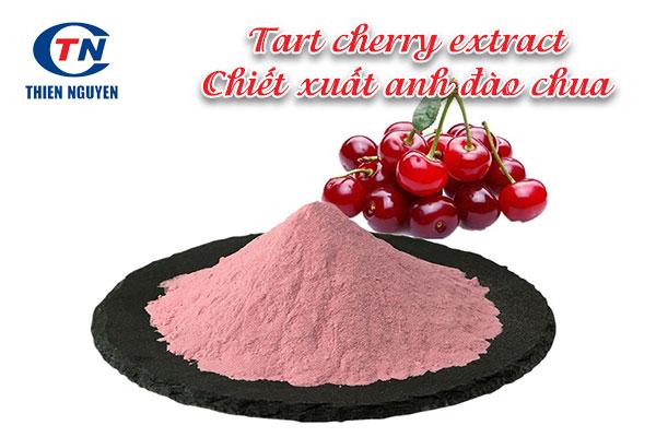 tart cherry extract là chiết xuất từ quả anh đào chua